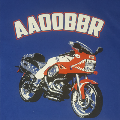 motorcycle embroidery