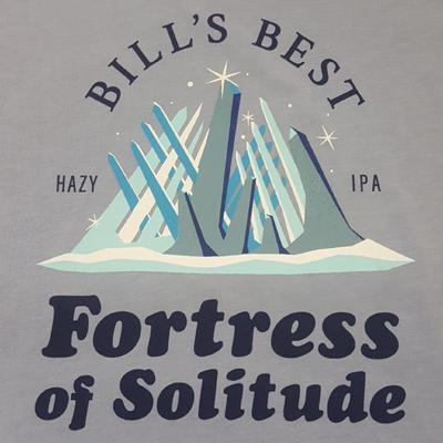 fortress of solitude screenprint