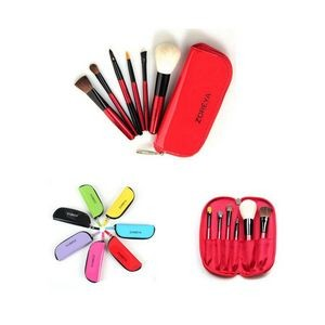 Portable Cosmetic Brush Set