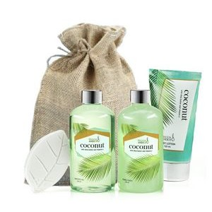 Tropical Coconut Spa Gift Basket