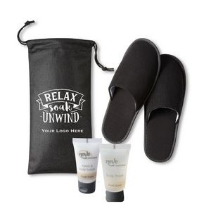 Spa & Bath with Slipper Set