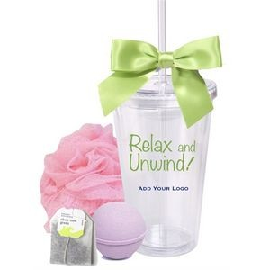 Spa and Tea Gift Tumbler