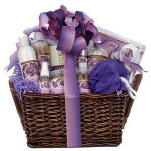 Purple Passion Spa Basket