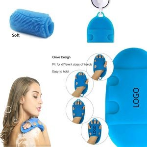 Silicon Bath Shower Cleaning Brush