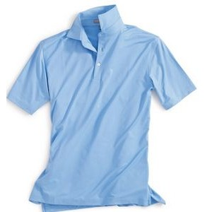 Peter Millar Summer Comfort Solid Stretch Jersey w/Sean Self-Fabric Collar
