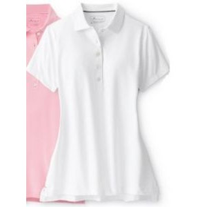 Peter Millar Ladies' Solid Stretch Short Sleeve Polo Shirt