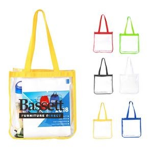 Clear Custom Tote Bags
