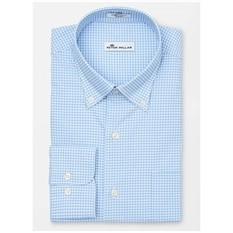 Peter Millar Men's Perf Stretch Mimi Check Woven